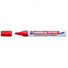 Маркер лакирующий (универс) красный 2-4 мм Edding 8750