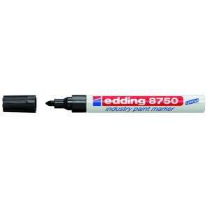 Маркер лакирующий (универс) черный 2-4 мм Edding 8750