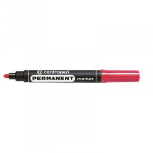 Маркер перм красный 2,5 мм круг након Centropen 8566