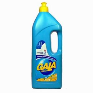 Моющее средство для посуды 1000 мл GALA (лимон)