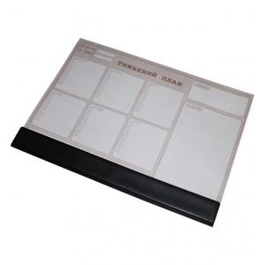 Планинг недельный (настольный) Panta Plast, без календаря (335х470 мм), 30 листов ассорти (0318-0004)