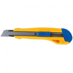 Нож канцелярский большой с мет. направл. BuroMax 18 мм (BM.4617)