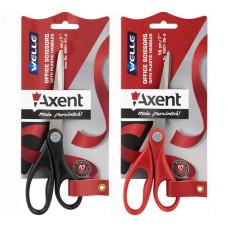 Ножницы офисные 180 мм (пластиковые ручки) Axent Welle (6201)