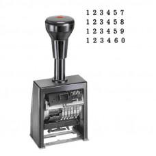 Нумератор автомат. металлический 6 разрядов REINER B6K/6 (4,5 мм)
