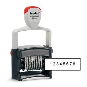 Нумератор металлический 8 разрядов TRODAT 5558 (5 мм)