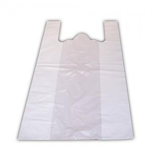 Пакет полиэтилен Майка 40 х 60 см 35 мкм белый (50 шт)