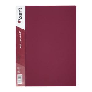 Папка с файлами 10 ф (А4) Axent бордо (1010-04-a)