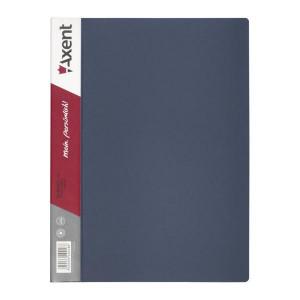 Папка с файлами 10 ф (А4) Axent серая (1010-03-a)