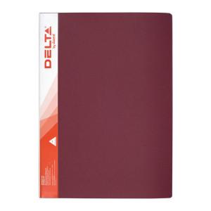 Папка с файлами 10 ф (А4) Axent красная (D1510-04)