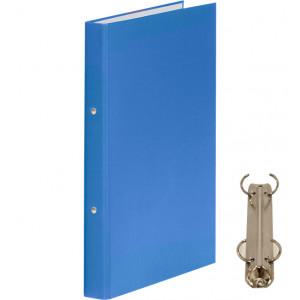 Папка 2 кольца картон (A4) Donau d-20 мм 35 мм полипропилен покр голубая (3732001-10)