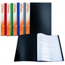 Папка с файлами 20 ф (А4) Axent ассорти (D1520)