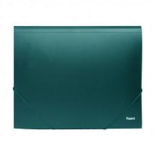 Папка на резинке пластик (А4) Axent 4-35 мм зеленая (1508-05)