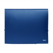 Папка на резинке пластик (А4) Axent 4-35 мм синяя (1508-02)