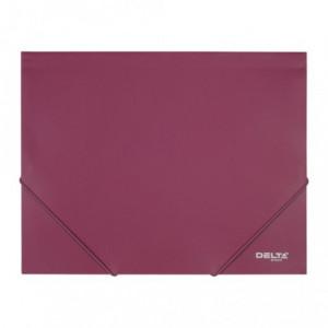 Папка на резинке пластик (А4) Axent 35 мм красная (D1521)