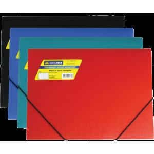 Папка на резинках пластик (А4) Buromax Jobmax ассорти (BM.3911-99)