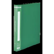 Папка с боковым зажимом пластик (A4) Buromax 20 мм зеленая (BM.3402-04)