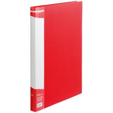 Папка с боковым зажимом пластик (A4) Buromax 20 мм красная (BM.3402-05)
