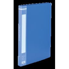 Папка с пружинным скоросшивателем пластик (А4) Buromax 20 мм синяя (BM.3407-02)