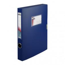 Папка-бокс на липучке пластик (А4) Axent 36 мм синяя (1736-02-A)