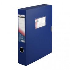 Папка-бокс на липучке пластик (А4) Axent 60 мм синяя (1760-02-A)