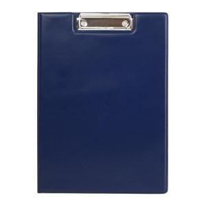 Папка-планшет с верхним зажимом винил (А4) AXENT (клипборд) синяя (2513-02-A)