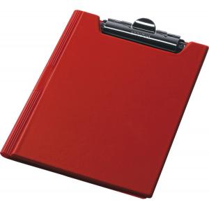 Папка-планшет с верхним зажимом ПВХ (А4) Panta Plast (клипборд) красная (0314-0003-05)