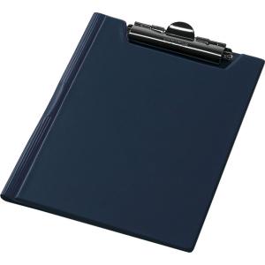 Папка-планшет с верхним зажимом ПВХ (А4) Panta Plast (клипборд) синяя (0314-0003-02)