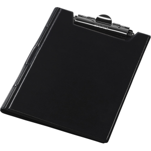 Папка-планшет с верхним зажимом ПВХ (А4) Panta Plast (клипборд) черная (0314-0003-01)