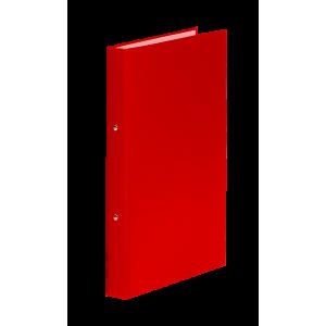 Папка 2 кольца картон (A5) Donau d-20 мм 30 мм полипропилен покр красная (3718001-04)