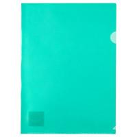 Папка-уголок (А4) 180 мкм полупрозр зеленая Axent (1434-26-A)
