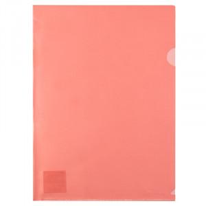 Папка-уголок (А4) 180 мкм полупрозр красная Axent (1434-24-A)