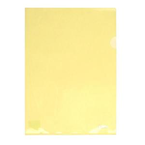 Папка-уголок (А4) 180 мкм полупрозр желтый Axent (1434-26-A)