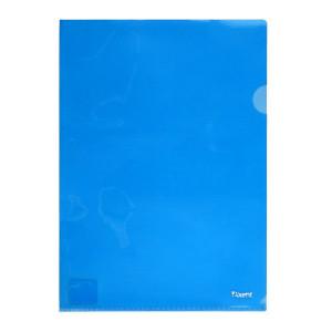 Папка-уголок (А4) 180 мкм полупрозр синяя Axent (1434-22-A)