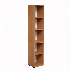Пенал-шкаф для документов открытый (350х347х1825) мм светлый бук (БЮ503)