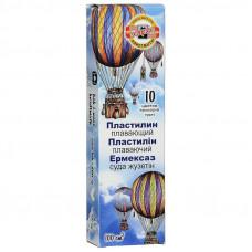 Пластилин 10 цв KOH-I-NOOR нетонущий 100 см3 (131717)