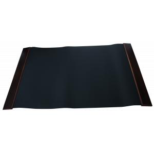 Подложка для письма (670 х 425 х 9 мм) Bestar черная с дерев. декором, орех. дерево (1058XDX)