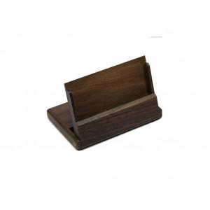 Подставка для визиток настольная 108 х 72 х 12 мм Bestar дерево орех (1316WDN)