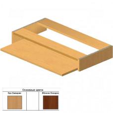 Полка для клавиатуры выдвижная (708х347х100) мм БЮ210