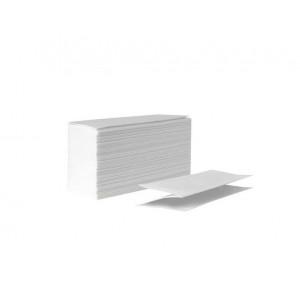 Полотенца-вкладыши V-образ 2-слой WELLiS белые 25 х 23 см (150 шт)