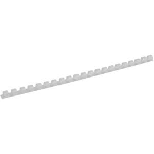 Пружина для биндера пластик 10 мм (до 75 л) 100 шт/уп AXENT (белая)
