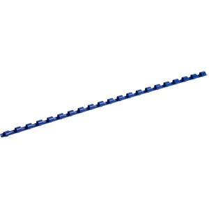 Пружина для биндера пластик 10 мм (до 75 л) 100 шт/уп (синяя)