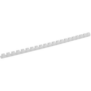 Пружина для биндера пластик 12 мм (до 100 л) 100 шт/уп (белая)