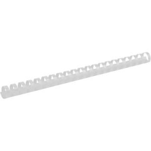 Пружина для биндера пластик 19 мм (до 180 л) 100 шт/уп (белая)