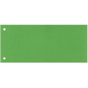 Разделитель страниц картон (цветной зеленый) 105 х 240 мм Esselte (624447)