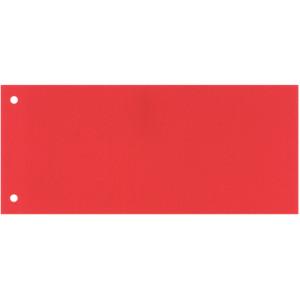 Разделитель страниц картон (цветной светло-красный) 105 х 240 мм Esselte (624446)
