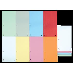 Разделитель страниц картон (цветной ассорти) 105 х 230 мм Donau 100 шт (8620100-99)