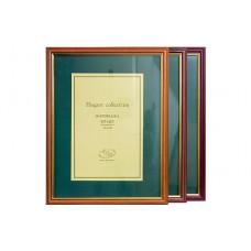 Рамка для фото настенная 30 х 40 см (пластик под дерево) (301065)