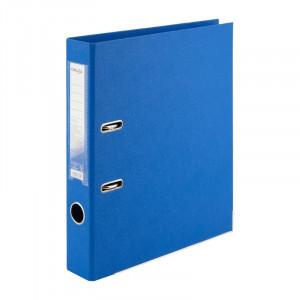 Регистратор 5 см А4 Axent 2стор покрыт, метал окант, голубой (D1711-07C)