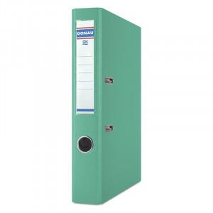 Регистратор 5 см А4 Donau Master 1стор покрытие, бирюзовый (3950001M-24)