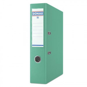 Регистратор 7 см А4 Donau Master 1стор покрытие, бирюзовый (3970001M-24)